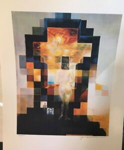 Salvador Dali GALA NUDE ABRAHAM LINCOLN Embossed lithograph Numbered 102 200 $525.00
