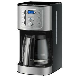 Cuisinart PerfecTemp 14 Cup Programmable Coffee Maker LCD Display $78.89