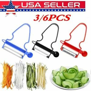 NEW 2020 Professional Magic Trio Peeler Vegetable Fruit Julienne Set of 3 Tool