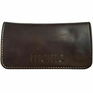 Tobacco Pouch Pu Leather Wallet Purse Holder Case Bag Rolling Cigarettes Brown L