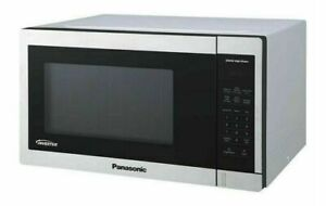 Panasonic 1.3 Cu Ft Stainless Steel Countertop Microwave Oven NN SC668S NOB