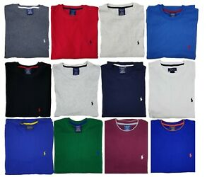 New Polo Ralph Lauren Mens Waffle Knit Thermal Long Sleeve Shirts S XXL