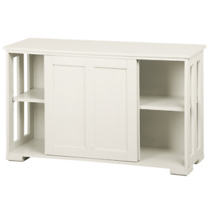 Stackable Sideboard Buffet Cabinet Storage Sliding Door Kitchen Dining Cabinet