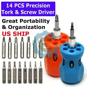 7 IN 1 Small MINI REPAIR PRECISION SCREWDRIVER TORX TOOL KIT SET PHONES FIX