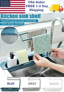 Kitchen Sink Adjustment Shelf Telescopic Expandable Storage Rack Drain Basket