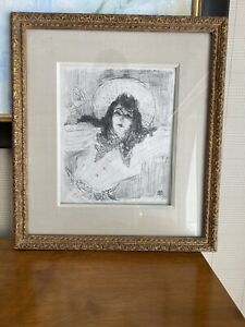 HENRI DE TOULOUSE LAUTREC lithograph limited edition of 400. signed in plate $2100.00