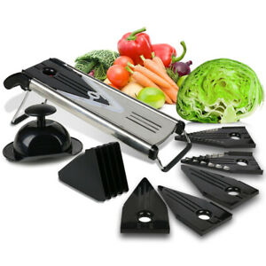 Premium Mandoline Fruit amp; Vegetable Cutter for Home and Business
