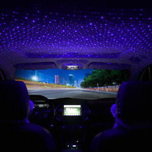 USB Car Accessories Interior Atmosphere Star Sky Lamp Ambient Night Lights US $9.48