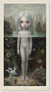 Mark Ryden Aurora  Print Signed and Numbered with COA  RARE $850.00