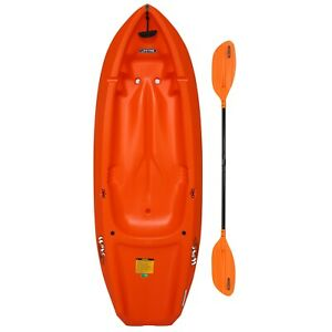 LIFETIME Kayak wave with Paddle for Youth 6 ft ORANGE
