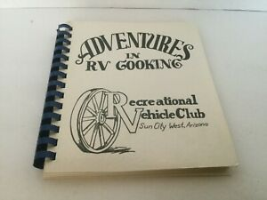 VTG Adventures in RV Cooking by RV Club of Sun City West Arizona Good Condition
