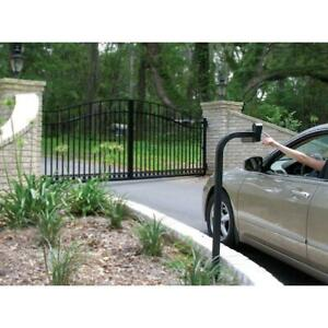 digital keypad mounting post for automatic driveway gate openers mighty mule $108.59