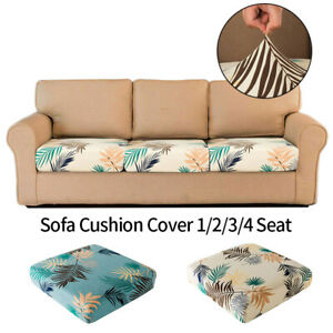 Universal Sofa Cushion Cover Stretch Slipcover 1 Seater Sofa Seat Protector