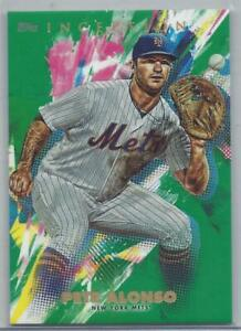 Pete Alonso 2020 Inception Green Parallel to Card #64