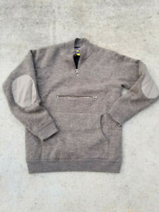 Cabela#x27;s Outfitter Over Under Waterfowl 4MOST Windshear Wool Hunting Sweater M