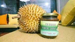 DURIAN FIBER JAM 450g 100% Natural Ceylon Home Made Food Product.No Bad Smell.