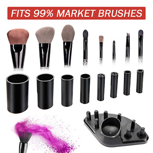 FUKKUDA Upgraded Makeup Brush Cleaner and Dryer Machine Electric Cosmetic Autom