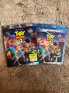 Toy Story 4 Blu ray DVD Digital With Slipcover Brand New