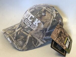 Duck Camo Team Realtree Distressed Hat Nwt Hunting Hook And Loop