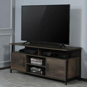 TV Stand 58quot; Entertainment Center Media Console Furniture Wood Storage Cabinet $169.99