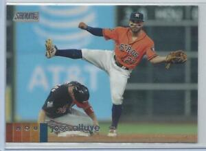 Jose Altuve Houston Astros 2020 Stadium Club Variation to Card #278