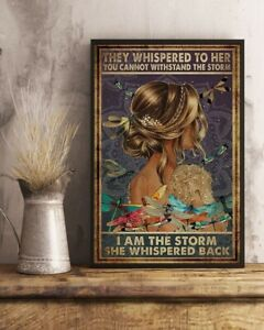 Yoga Poster the storm Vertical Poster