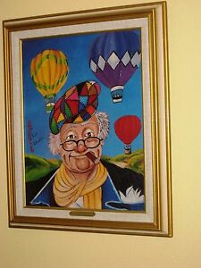 Red Skelton Signed Lithographs $325.00