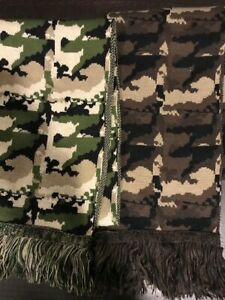 4 new camouflage scarves