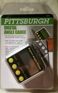 PITTSBURGH DIGITAL ANGLE GAUGE #63615 Magnetized New $12.99
