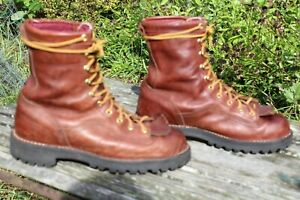 VTG DANNER BROWN 11800 RAIN FOREST GORE TEX HUNTING BOOTS 9 D