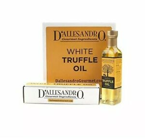 White Truffle Oil by D#x27;Allesandro 8 oz Bottle Pantry Cooking Baking Olive Chef