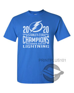 2020 Stanley Cup Champions Tampa Bay Lightning T Shirt Design Adult SM 3XL