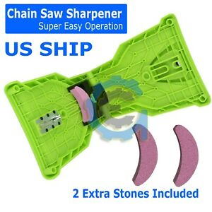 Chainsaw Teeth Sharpener Sharpens Chainsaw Saw Chain Sharpening System 14 20Inch $9.75