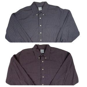 Lot of 2 Brooks Brothers Sport Shirt Long Sleeve Button Down XL Cotton $29.99