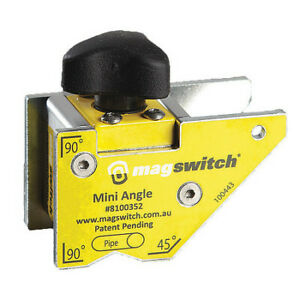 Magswitch 8100352 Welding Angle 90 Lb. Max. Pull Steel Angle: 45 $24.00