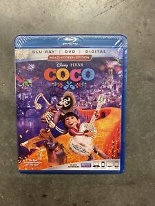 Coco Blu ray DVD 2018 2 Disc Set Includes Digital Copy New Sealed $13.99