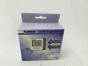 Accuremote Angle Cube Digital Angle Protractor Inclinometer Electronic Gauge $23.99
