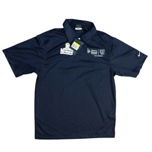 BNWT Nike Dri Fit Golf Shirt mens Small US Soccer jersey performance polo button $14.99