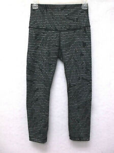 Lululemon Wunder Under Womens Legging Size 4 Fern Leaves $47.96