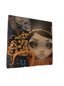 Jasmine Becket Griffith ORIGINAL Painting Faces of Faery #218 $1400.00