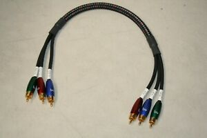 Audioquest RCA Interconnect Professional Grade Conponent Video Cable 0.5 meter $14.50