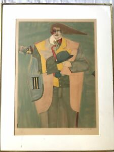 Richard Lindner Limited Edition Signed Lithograph $150.00