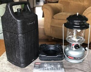 Coleman Camping Hunting Survival 285 700T Dual Fuel Lantern amp; Carry Case