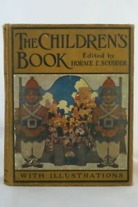 Horace E Scudder THE CHILDREN#x27;S BOOK Stories amp; Poems Maxfield Parrish Cover 1909 $200.00