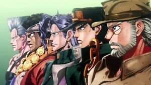 192964 JoJo#x27;s Bizarre Adventure Anime Decor Wall POSTER Print $17.95