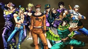 193927 JoJo#x27;s Bizarre Adventure Anime Decor Wall POSTER Print $17.95