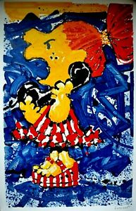 Tom Everhart quot;1 800 My Hair#x27;s Pulled Too Tightquot; Lithograph Signed Numbered COA $485.00