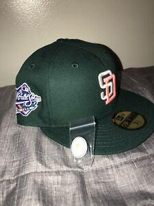 hat club San Diego Padres new era Green Eggs And Ham 7 5 8 Pink Under Visor Brim $88.95