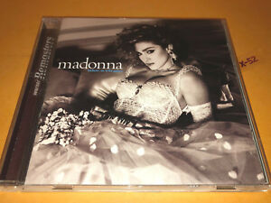 MADONNA cd LIKE A VIRGIN angel MATERIAL GIRL dress you up 2 remix bonus hits $12.99