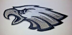 Philadelphia Eagles Embroidered PATCH 4quot; x 1 5 8quot; Iron Sew on NFL Ships FREE